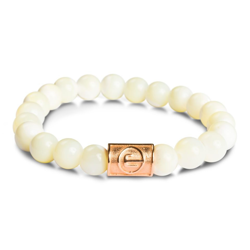 ESEROCCA Classic Mother Of Pearl Rose Gold.